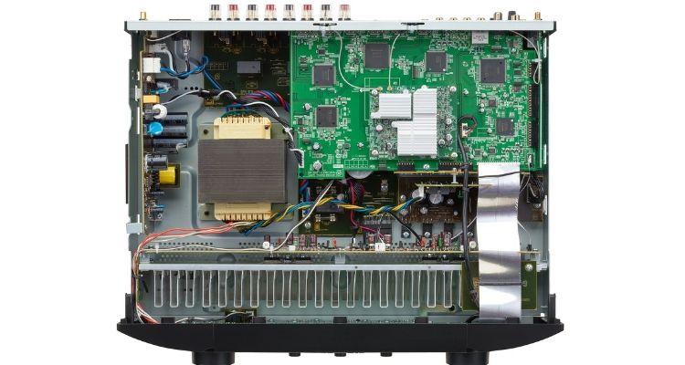 Marantz NR1200 Stereo-Netzwerk-Receiver Slim Design Innenansicht