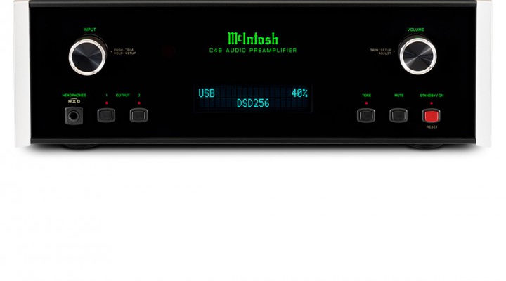 McIntosh C49 Vorverstärker Preamp Amp High End HiFi