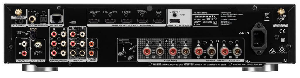 Marantz NR1200 Stereo-Netzwerk-Receiver im Slim Design