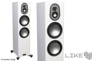 Monitor Audio Gold 300 Test Review Speaker Standlautsprecher Boxen