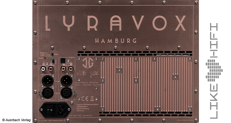 Lyravox Karlina Pure Test Review Aktivlautsprecher Speaker Active DSP AUDIO TEST