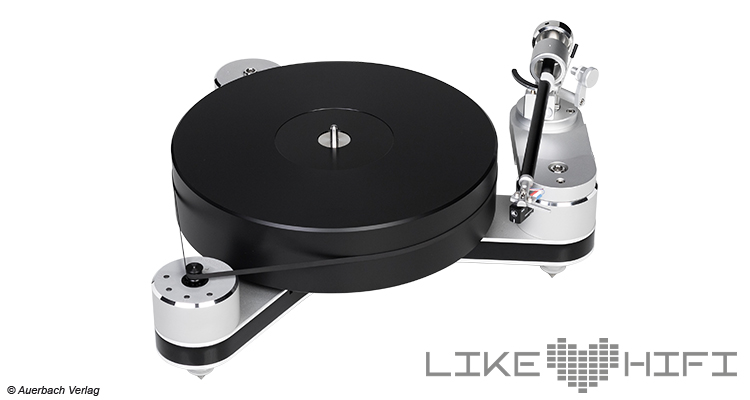 Clearaudio Innovation Compact Test Review Testbericht Plattenspieler Turntable Satisfy Kardan Aluminium Concept MC Tonabnehmer