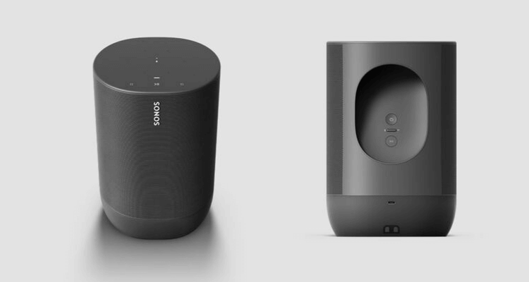 Sonos Move Speaker Lautsprecher Smart Bluetooth Streaming Multiroom