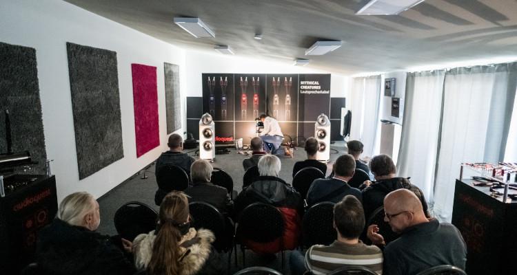 Mitteldeutsche HiFi-Tage 2019 MDHT Leipzig Messe Audioquest B&W