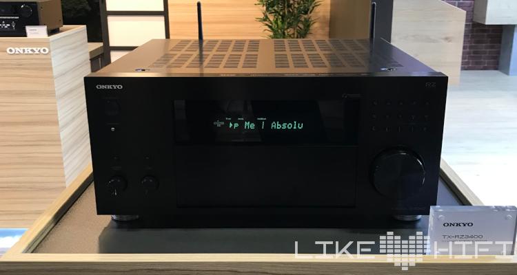 Front Onkyo TX-RZ3400 AVR AV Receiver IFA 2019 Berlin