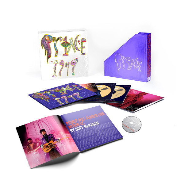 Prince 1999 Album Super Deluxe Edition Box Remastered Vinyl Download CD