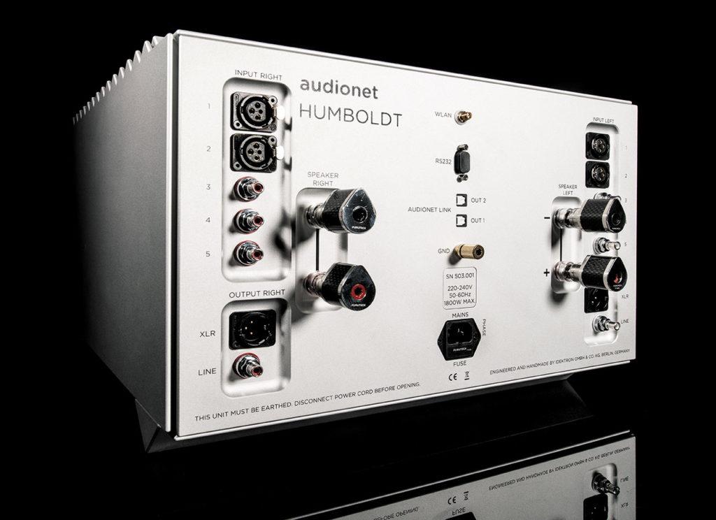 Rückseite Audionet Humboldt