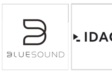 Logo Idagio und Bluesound Update Firmware