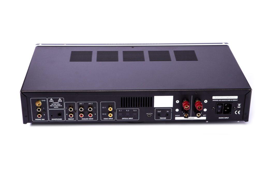 Electrocompaniet Vollverstärker ECI 80D Amp Stereo Rückansicht Anschlüsse rear