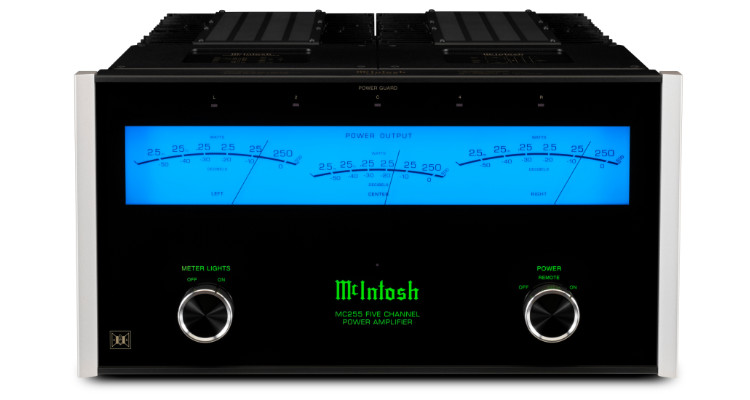 McIntosh-Mehrkanal-Endstufe MC255 AC