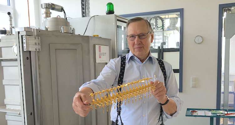 WBT PlasmaProtect Wolfgang Thörner Essen Produktion Stecker Steckverbindungen