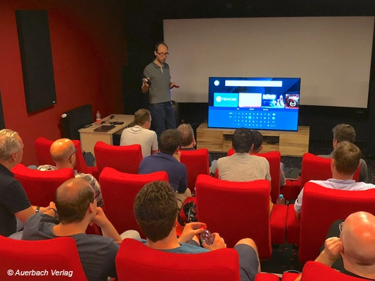 Sony KD-85ZG9 Event Leipzig 8K HDR Fernseher TV Test Event Masters Serie Bravia
