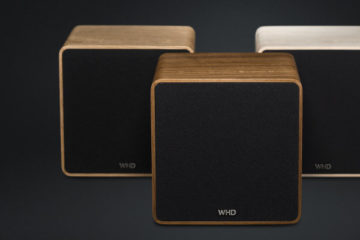 WHD Qube XL (Holz) Streaming Bluetooth Lautsprecher