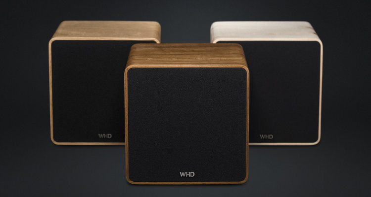 WHD Qube XL (Holz) Streaming Bluetooth Lautsprecher