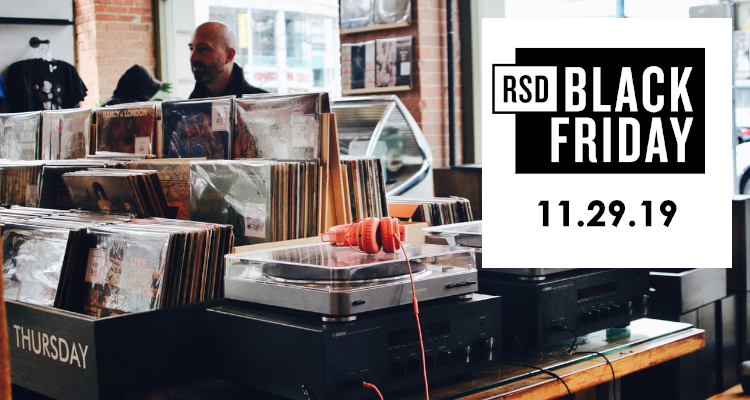 RSD BLACK FRIDAY 2019 Vinyl Record Store Day