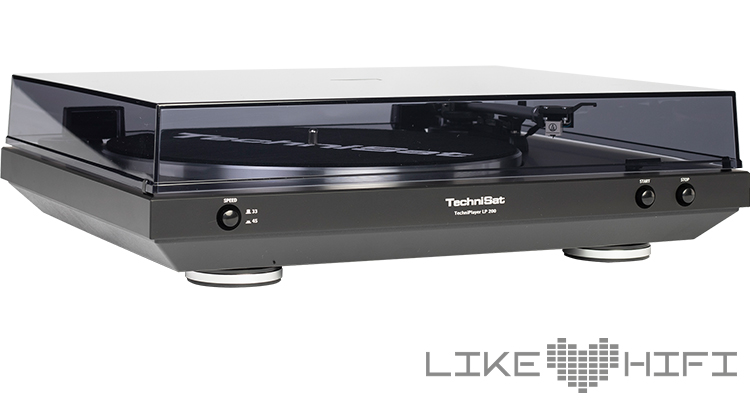 TechniSat TechniPlayer LP 200 Turntable Hifi Review Test