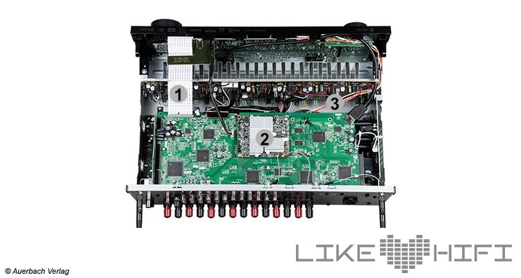 Der Denon AVR-X2600H von Innen