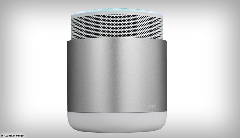 Pure DiscovR Test Review Ansicht Speaker Lautsprecher
