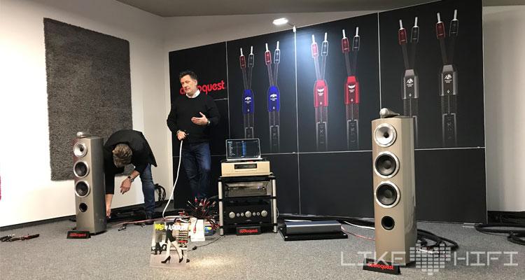 Audioquest MDHT 2019 Mitteldeutsche HiFi Tage Leipzig Thijs Helwegen Richard Drees
