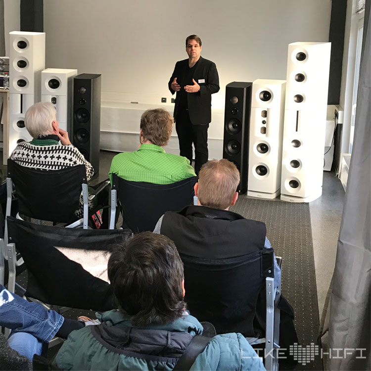 Backes Müller B&M MDHT 2019 Mitteldeutsche HiFi Tage Leipzig Andreas Kühn Sounds Lautsprecher Aktiv