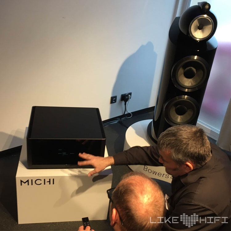 Bowers & Wilkins B&W MDHT 2019 Mitteldeutsche HiFi Tage Leipzig Ulf Soldan Rotel Michi