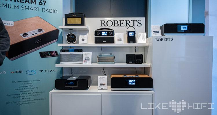 Roberts Radio MDHT 2019 Mitteldeutsche HiFi Tage Leipzig
