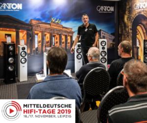 Mitteldeutsche HiFi Tage 2019 Canton HiFi Leipzig Kaufen MDHT