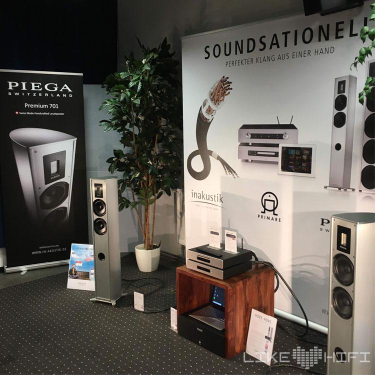 Piega Primare in-akustik MDHT 2019 Mitteldeutsche HiFi Tage Leipzig Lautsprecher Verstärker