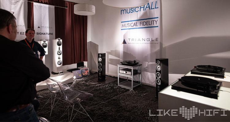 Musical Fidelity Music Hall Triangle Reichmann Audiosysteme MDHT 2019 Mitteldeutsche HiFi Tage Leipzig Lautsprecher Verstärker Plattenspieler Streamer