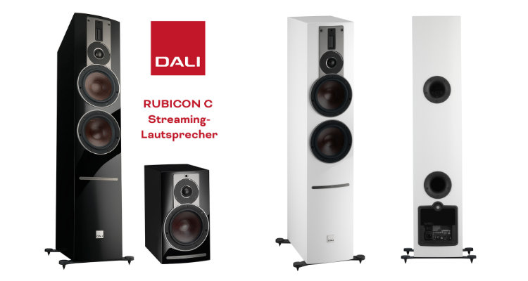 Dali Rubicon 2 C 6 C Aktivlautsprecher BluOs News Test Review