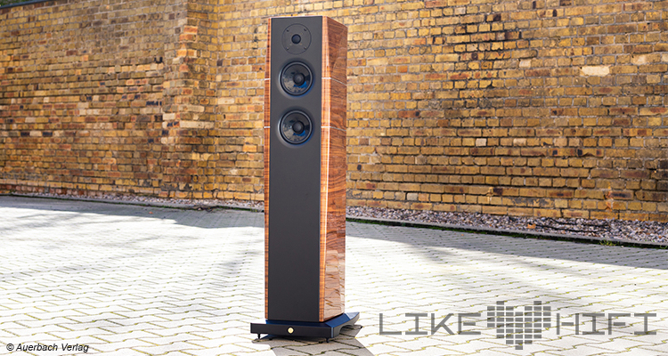 Testbericht Test Gold Note A6 Evo Standlautsprecher Goldnote Speaker High End Lautsprecher