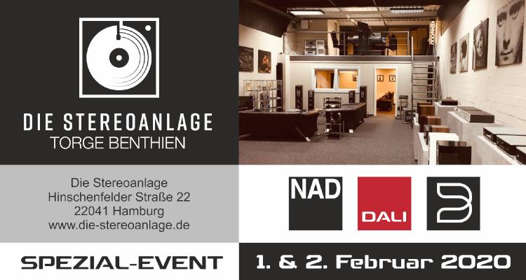 """Dali Spezial Event """"Die Stereoanlage"""" Hamburg NAD Bluesound"""