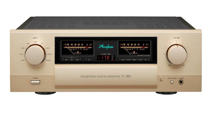 Accuphase E-380 Amp Vollverstärker Amplifier Front