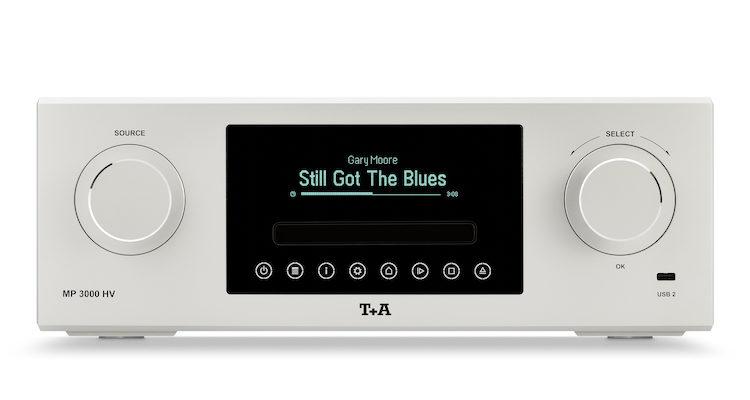 T+A MP 3000 HV MK II Multi Source Player CD-Player CD Spieler Netzwerk Streamer Streaming Test Review