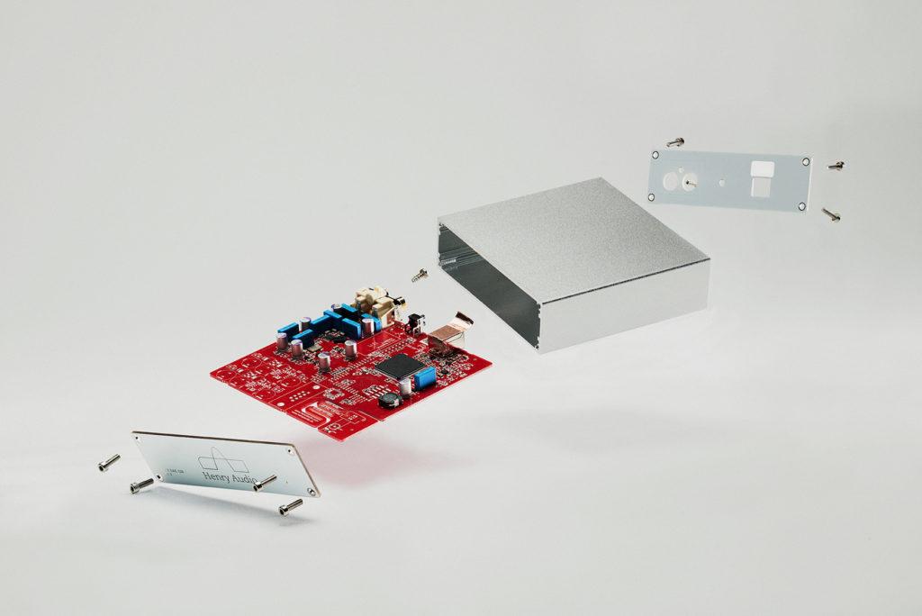 Henry Audio USB DAC 128 Mk3 D/A Wandler Test Review Innenansicht Innen