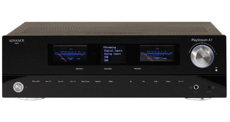 Titelbild Advance Paris Playstream A7 Netzwerk Verstärker Streaming Amp News Test