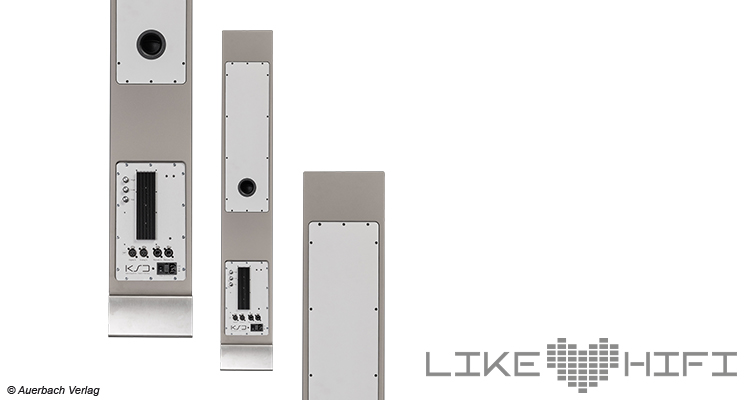 Anschlusspanel KSdigital KSD 2040 Test Review Standlautsprecher Aktivlautsprecher Studiomonitor