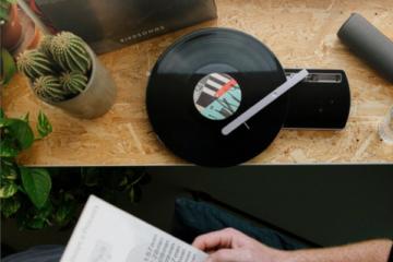 Coturn CT-01 Plattenspieler Turntable Portable Portabel Tragbar Jakarta Records Habibi Kickstarter Crowdfunding