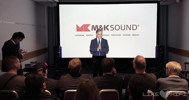 M&K Sound Audio Reference Mamaghani NDHT 2020 Hörtest Hamburg Norddeutsche HiFi Tage Lautsprecher Heimkino