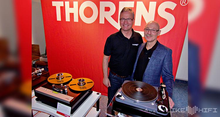 Thorens Kürten Wolters Plattenspieler NDHT 2020 Hörtest Hamburg Norddeutsche HiFi Tage Messe Vertrieb Marketing