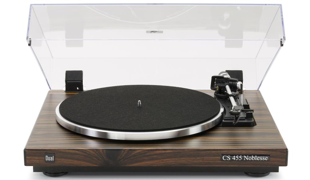 Schallplattenspieler Dual CS 455-1 Noblesse Plattenspieler Sintron Test Review Sondermodell