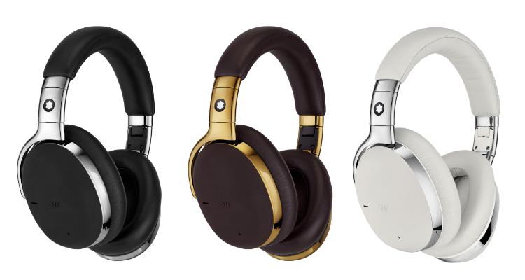 Drei Farben der Montblanc Kopfhörer