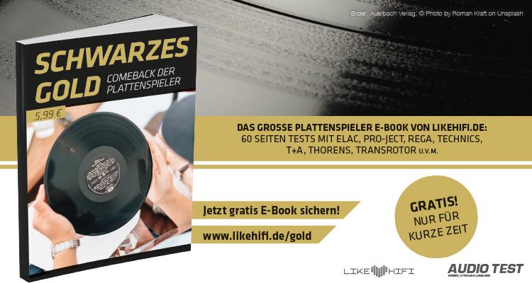 Schwarzes Gold Gratis E-Book Plattenspieler Vinyl Test Review Schallplattenspieler