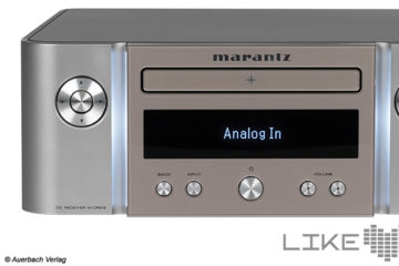 Test Marantz Melody X M-CR612 CD Netzwerk Receiver Verstärker Amp Streaming Review