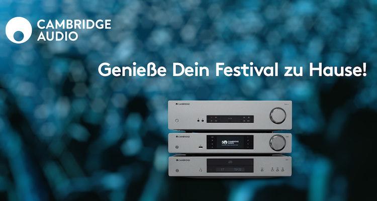 Cambridge Audio Festivals Aktion Rabatt 10% Kauf
