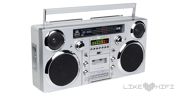 Test GPO Retro Brooklyn Boombox Ghettoblaster Review