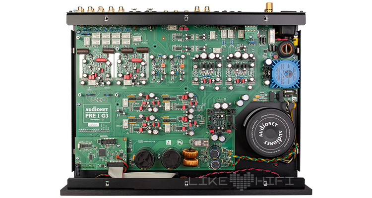 Test Review Audionet Audionet PRE I G3 Vorstufe Stereo Preamplifier