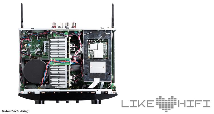 Testbericht Marantz PM7000N Vollverstärker Stereo Amp Review Test Innenansicht