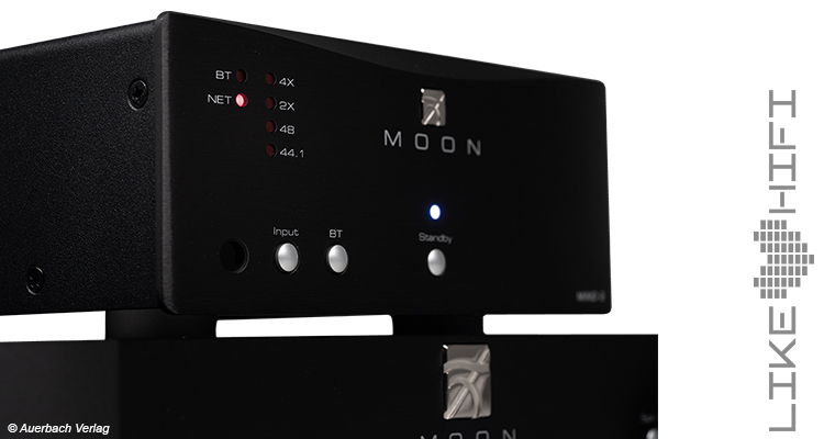 Testbericht Moon by Simaudio Mind 2 Netzwerkplayer Network Player Streamer Hifi High End Test Review