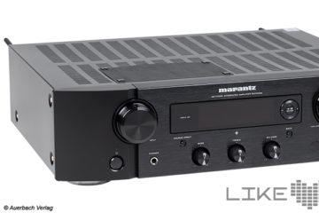 Testbericht Marantz PM7000N Stereo-Vollverstärker Verstärker Amp Test Review